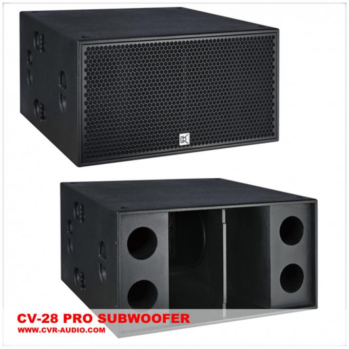 Pro Subwoofer audio 2000 CE de madeira do sistema de colunas do armário do watt, pro Subwoofers sadios